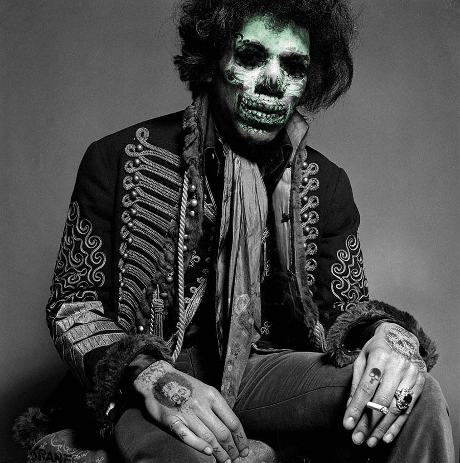 Jimi Hendrix by Krane