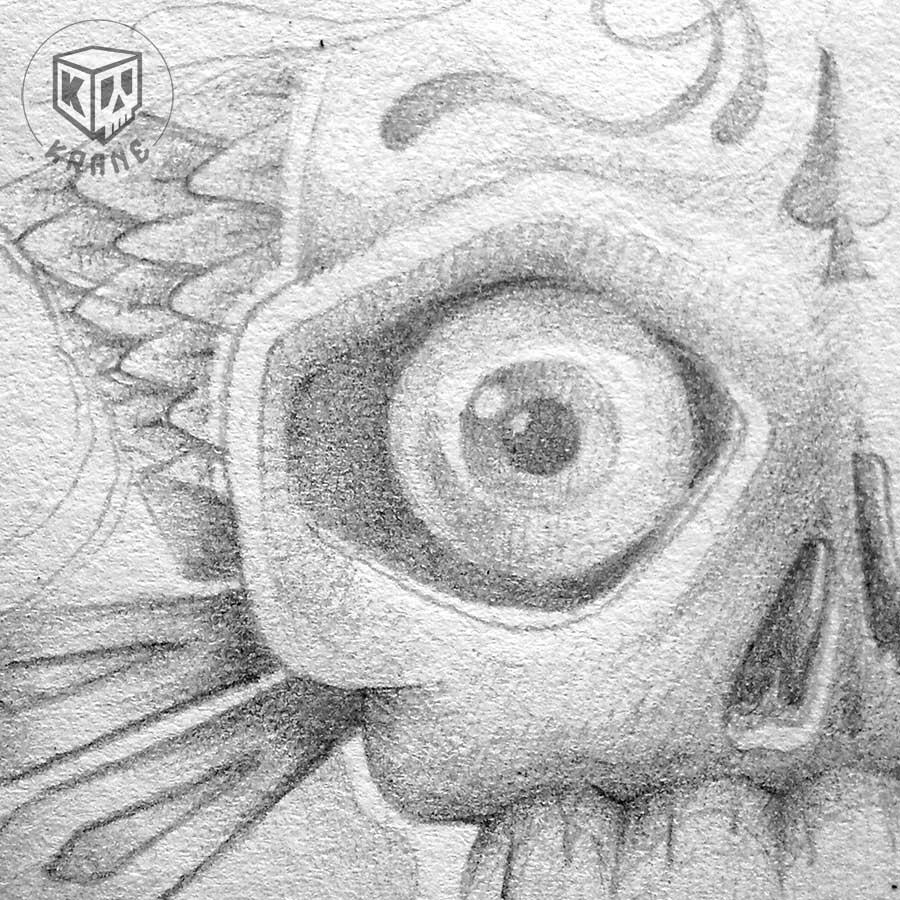 Skull paper by Krane