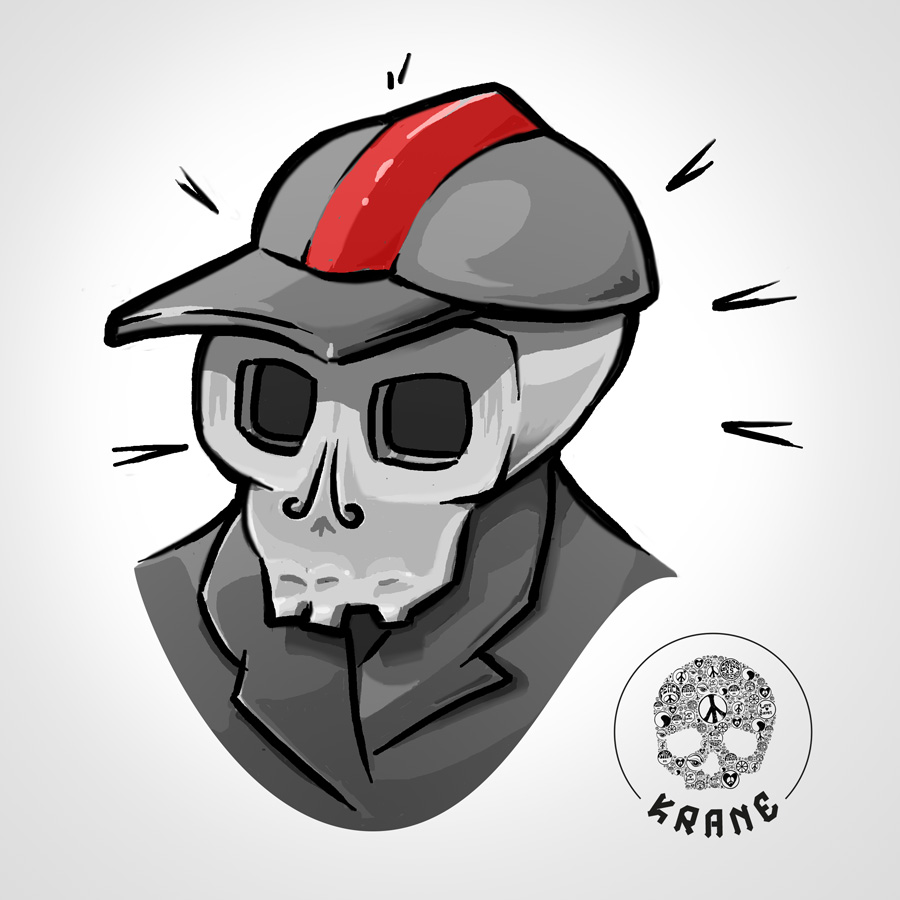 Skull boy by Krane