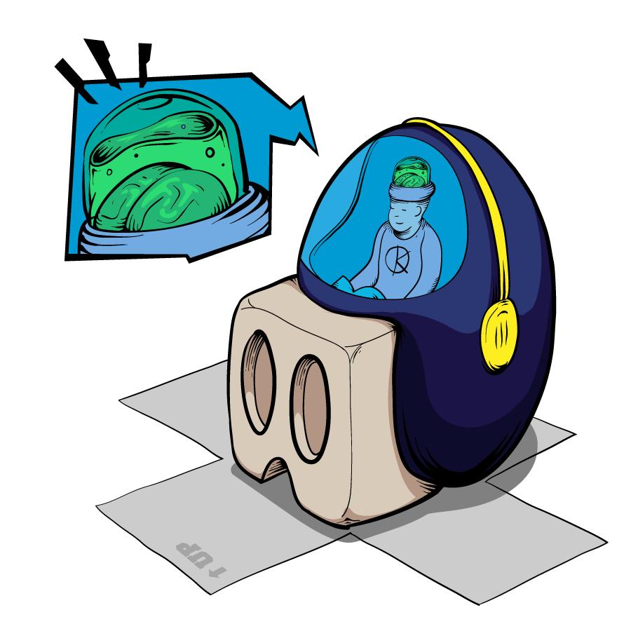 Cube egg by Krane