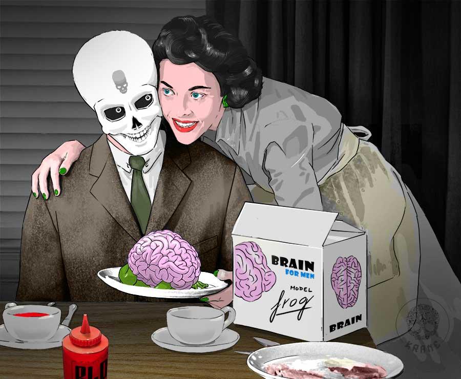 Eat darling by Krane