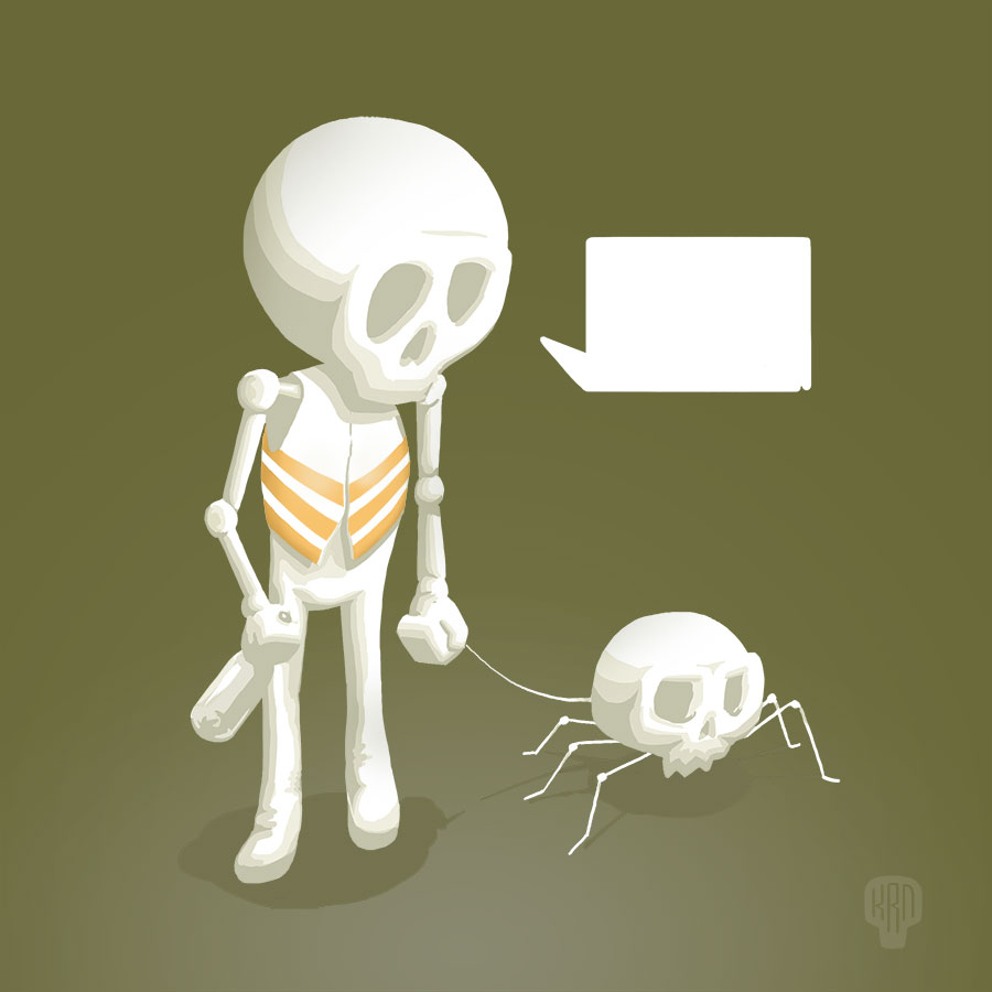 Skull-dog by Krane