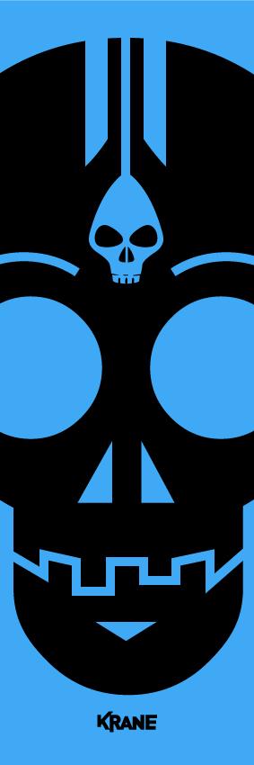 Vertiskull blue by Krane