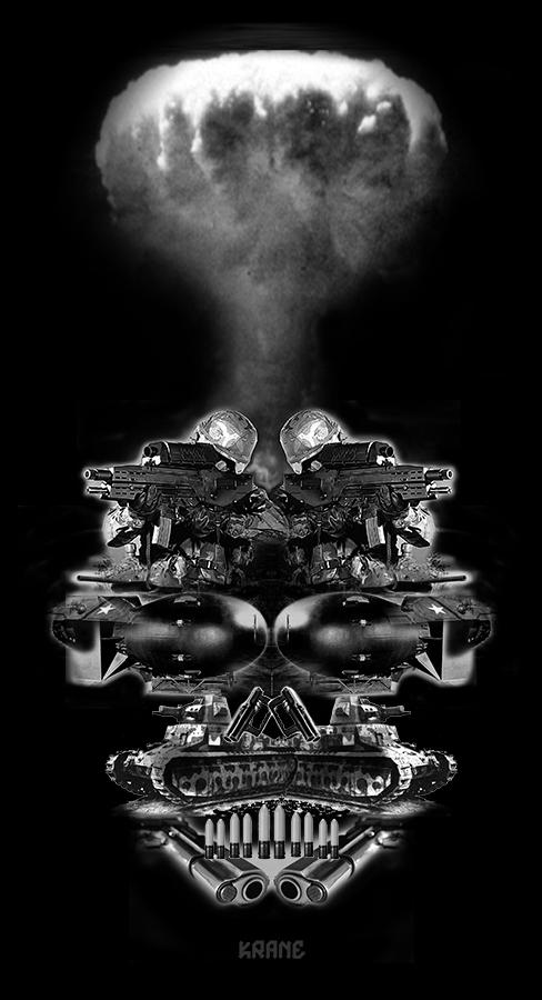 Weapon skull by Krane